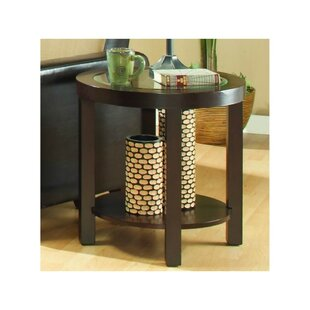 Madeline Wooden End Table by Alcott Hill