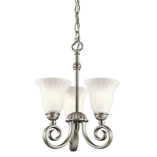 Darby Home Co Bafford 3-Light Shaded Chandelier