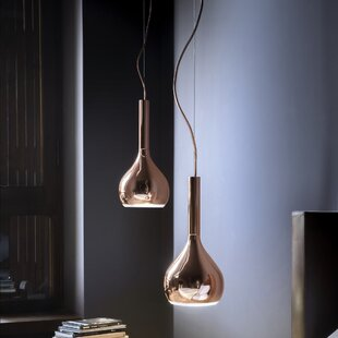 Oluce Lys 1-Light Teardrop Pendant