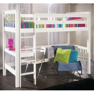 Holbrook High Sleeper Bed with Built-In Desk by Limelight