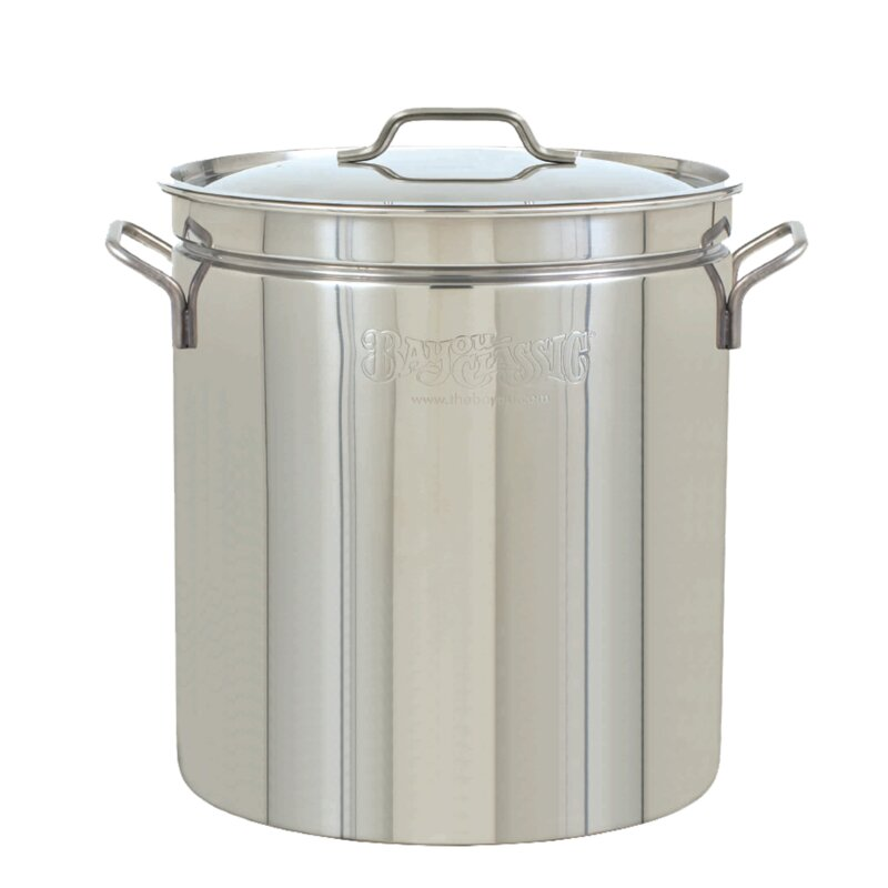 Bayou Classic 24-qt. Stainless Stock Pot with Lid