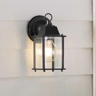 Compare prices Nightingale 1-Light Outdoor Sconce By Charlton Home