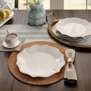 Tropez Melamine Dinner Plate (Set of 6) ByBirch Lane™