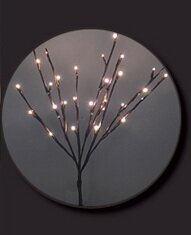Hi-Line Gift Ltd. 3 Piece 30 LED Lights Willow Branch with Battery and Timer Set