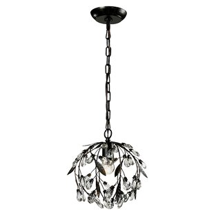 Midway 1-Light Globe Pendant by Ophelia & Co.