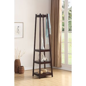 Clark 3-Tier Storage Shelve Coat Rack