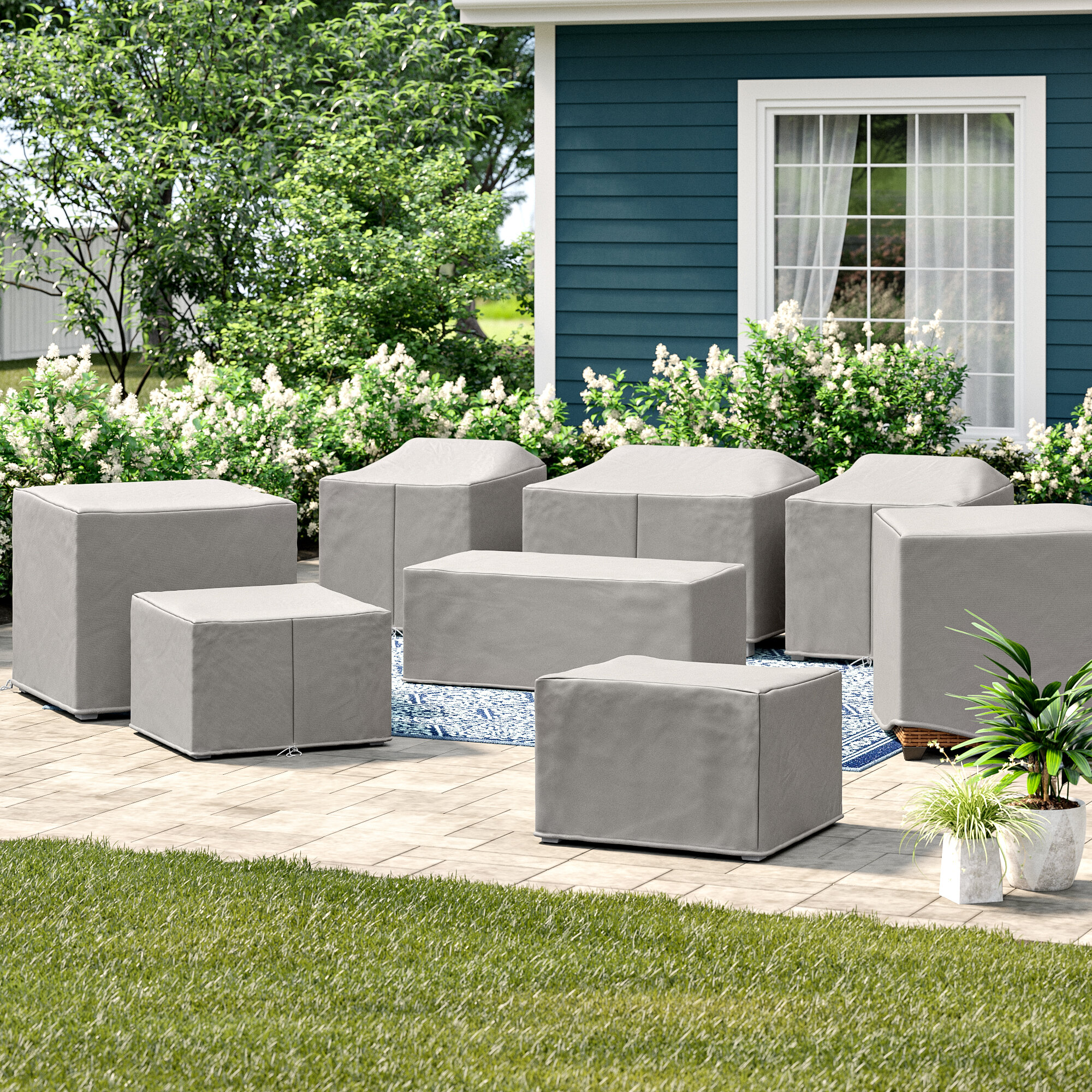 Patio Furniture Cover Set