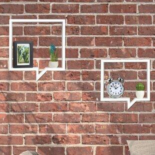 Enya 2 Piece Floating Shelf Set By 17 Stories