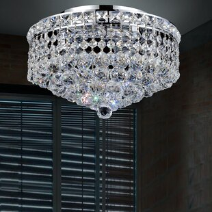 CWI Lighting Luminous 3-Light Semi Flush Mount