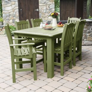 Three Posts Cassell 7 Piece Dining Set