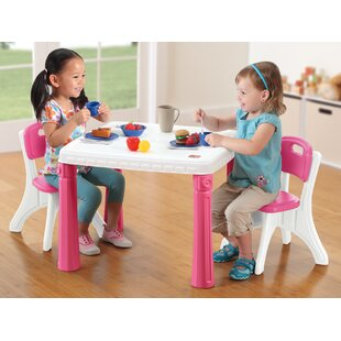 Great Price Lifestyle Kitchen Kids Table and Chair Set ByStep2