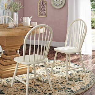Geraldine Westminster Solid Wood Side Chair (Set Of 2) By August Grove