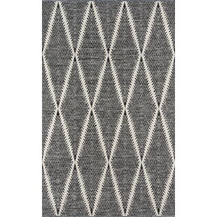 River Beacon Hand-Woven Black Area Rug by Erin Gates by Momeni