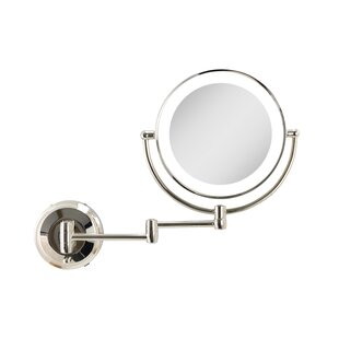 Best Price Capri Dual LED Lighted Wall Mirror ByEbern Designs