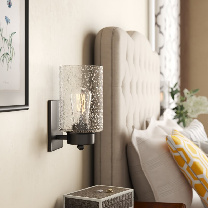 Jaylene 1-Light Armed Sconce
