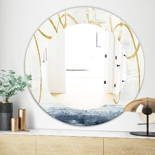 Abstract Geometric Shape Vanity Mirror by East Urban Home