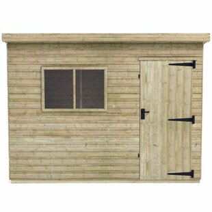 Tiger 6 Ft. W X 4 Ft. D Shiplap Pent Wooden Shed By Tiger Sheds
