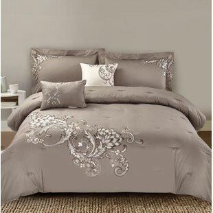 Mcspadden 5 Piece 100% Cotton Comforter Set