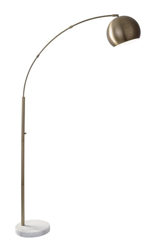 "Astoria 78"" Arched Floor Lamp"