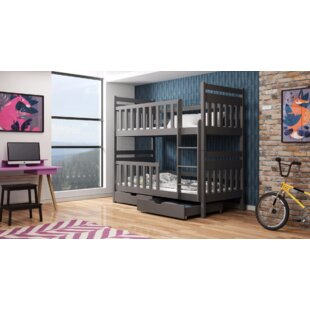 Knutson Single Bunk Bed With Drawers By Harriet Bee