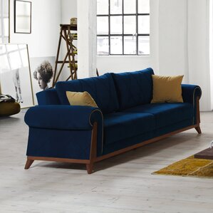 Lambert Sleeper Sofa by Perla Furniture by C..