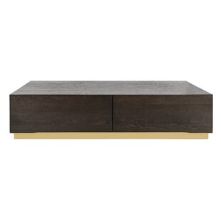 Leeson Oak Coffee Table by Brayden Studio Fresh