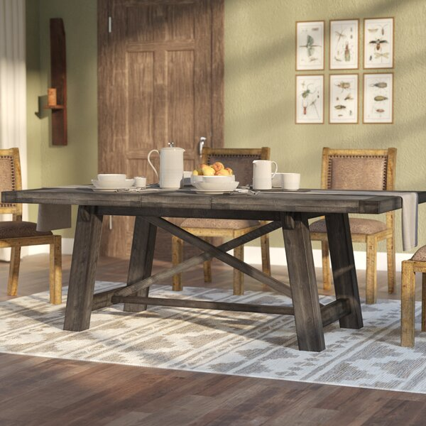 Extra Large Dining Table Wayfair - Aged wood dining table