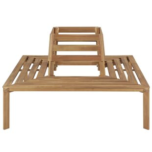 Bittinger Wooden Bench By Sol 72 Outdoor