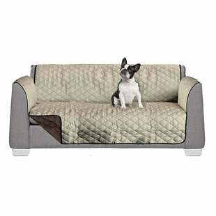 Reversible Box Cushion Sofa Slipcover by American Kennel Club #2