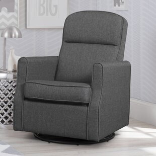Delta Children Blair Slim Nursery Swivel Glider