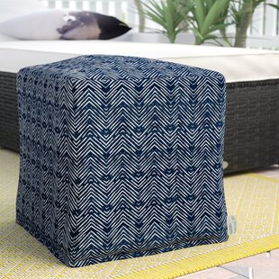 Glassell Small Ottoman by Wrought Studio