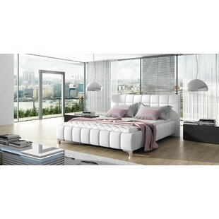 Orren Ellis Borgata Modern Queen Upholstered Platform Bed