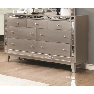 Cecere 7 Drawers Double Dresser