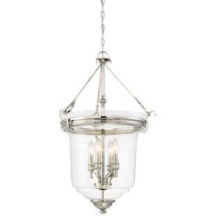 Darby Home Co Ameche 4-Light Urn Pendant