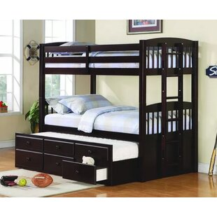 Harriet Bee Bernal Twin over Twin Bunk Bed with Trundle