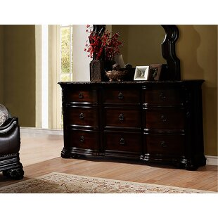 Kace 9 Drawer Dresser