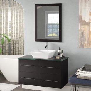 Carnforth 35 Single Bathroom Vanity Set with Mirror ByWade Logan