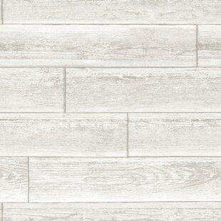 Serene Peel And Stick 18 X 205 Wood Wallpaper