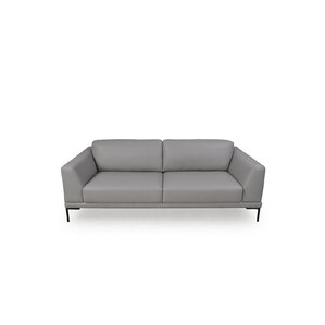 Joachim Top Grain Contemporary Loveseat by Orren Ellis