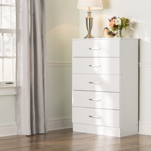 Comparison Chester 5 Drawer Chest by Andover Mills