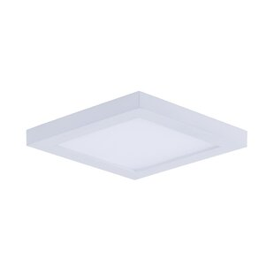 Ebern Designs Adamsburg 1-Light LED Flush Mount
