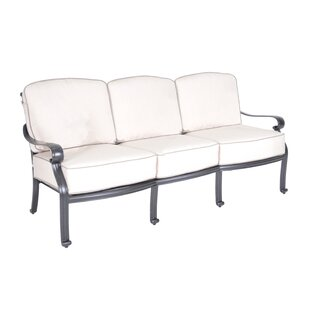 Croydon Patio Sofa with Sunbrella Cushions by Darby Home Co