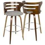 Dylan Swivel Bar and Counter Stool (Set of 2) by AllModern