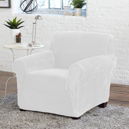 Velvet Slipcover Chair Best Home Decorating Ideas
