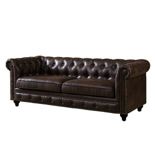 Ridings Tufted Chesterfield Sofa by Williston Forge