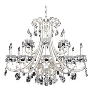Allegri by Kalco Lighting Bedetti 18-Light Candle Style Chandelier