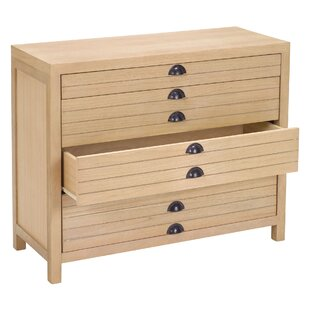 Neve 4 Drawer Flat File Cabinet