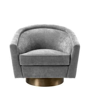 Catene Swivel Barrel Chair
