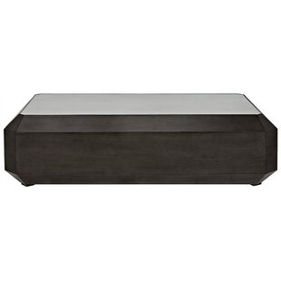 Noir Emerald Cut Coffee Table