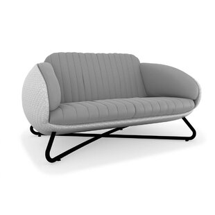 Circle Loveseat with Cushions by 100 Essentials